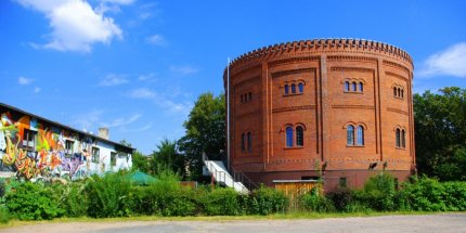 Alter Gasometer in Zwickau